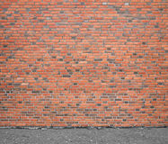 Wall of bricks Stock Images