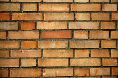 Wall with bricks Royalty Free Stock Photo