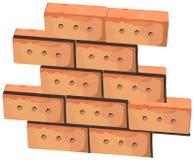 Wall from bricks Stock Photo