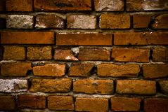 Wall from bricks Royalty Free Stock Photo