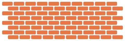 Wall of bricks. Art illustration of a wall with many bricks Royalty Free Stock Photography