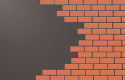 Wall of bricks background art vector Stock Photo