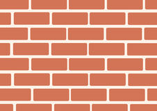 Wall of bricks background art vector Stock Image