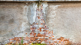 Wall bricks background old coating Stock Photo
