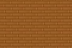 Wall of bricks, brown backgrounds. Wall of bricks, brown backgrounds royalty free illustration