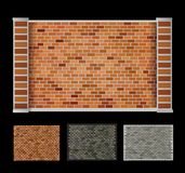 Wall  of bricks Royalty Free Stock Photos