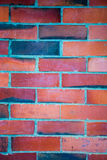 Wall of bricks. Multicolor bricks making a solid wall Royalty Free Stock Images