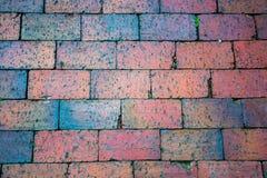 Wall of bricks. Multicolor bricks making a solid wall Stock Photography