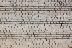 Wall of Bricks. Old wall of briks, background Royalty Free Stock Photography