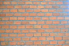 Wall. The wall is brown bricks in home Stock Photography