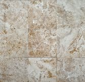 Wall of brown stone Royalty Free Stock Photography