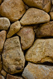 Wall Brown Stone. Is very strong Stock Photos