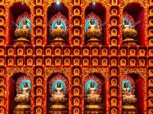 Wall of Buddha Stock Photos