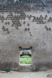 Wall of buddha Royalty Free Stock Photography