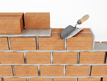 Wall building Royalty Free Stock Image