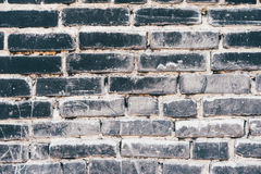 Wall built with bricks Royalty Free Stock Photography