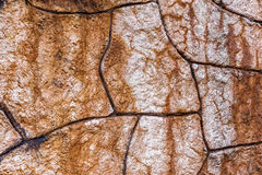 Wall built of natural stone. Can be used as background Royalty Free Stock Image