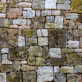 Wall built of natural stone Stock Photography