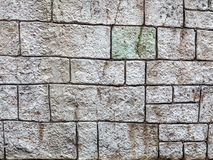 Wall built of natural stone, perspective. Can be used as backgro Stock Photography
