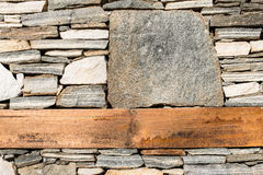 Free Wall Built Of Stones. Sun Light Stock Photo - 36669910
