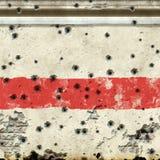 Wall bullets Royalty Free Stock Photography