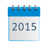Wall-calendar icon Royalty Free Stock Photo