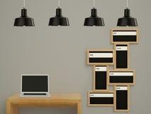 Wall calendar. Schedule memo management organizer concept. Stock Image