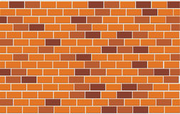 Wall of capacity brick Royalty Free Stock Images