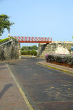 The Wall Cartagena Colombia South America Royalty Free Stock Photos