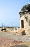 The Wall Cartagena Colombia South America Stock Image