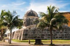 Wall of Cartagena de Indias. Colombia Stock Photos