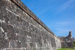 Wall of Cartagena de Indias. Colombia Royalty Free Stock Photography