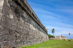 Wall of Cartagena de Indias. Colombia Royalty Free Stock Photos