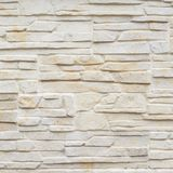 Wall of carved limestone bricks Stock Images