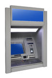 Wall cash dispense. Isoalted on white Royalty Free Stock Photography
