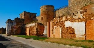 Wall castle Royalty Free Stock Photos