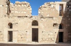 Wall of castle Hanarrah Stock Images