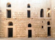 Wall of castle Hanarrah Royalty Free Stock Images