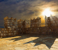 Castle of Marmaris Stock Image
