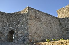Wall castle Stock Images