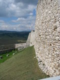 Wall of a castle Royalty Free Stock Photo
