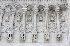 Wall of Cathedral Stock Images
