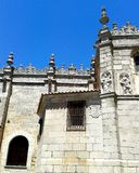 Wall of the Cathedral of Ávila, Spain Stock Photography