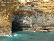 Great Ocean Road. Cave. Royalty Free Stock Image