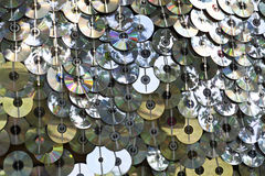 Wall Of CD's Royalty Free Stock Photo