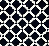 Wall with ceramic tiles mosaic Stock Photo