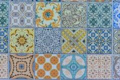 Wall ceramic tiles patterns Mega set from Thailand Stock Photos