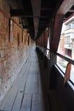 The wall on cetatii street Royalty Free Stock Photo