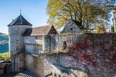Wall, Château, Building, Sky