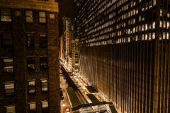 Wall of Chicago Royalty Free Stock Photography